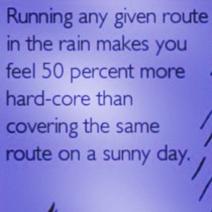 Rain or Shine – Anthony's Run is ON!