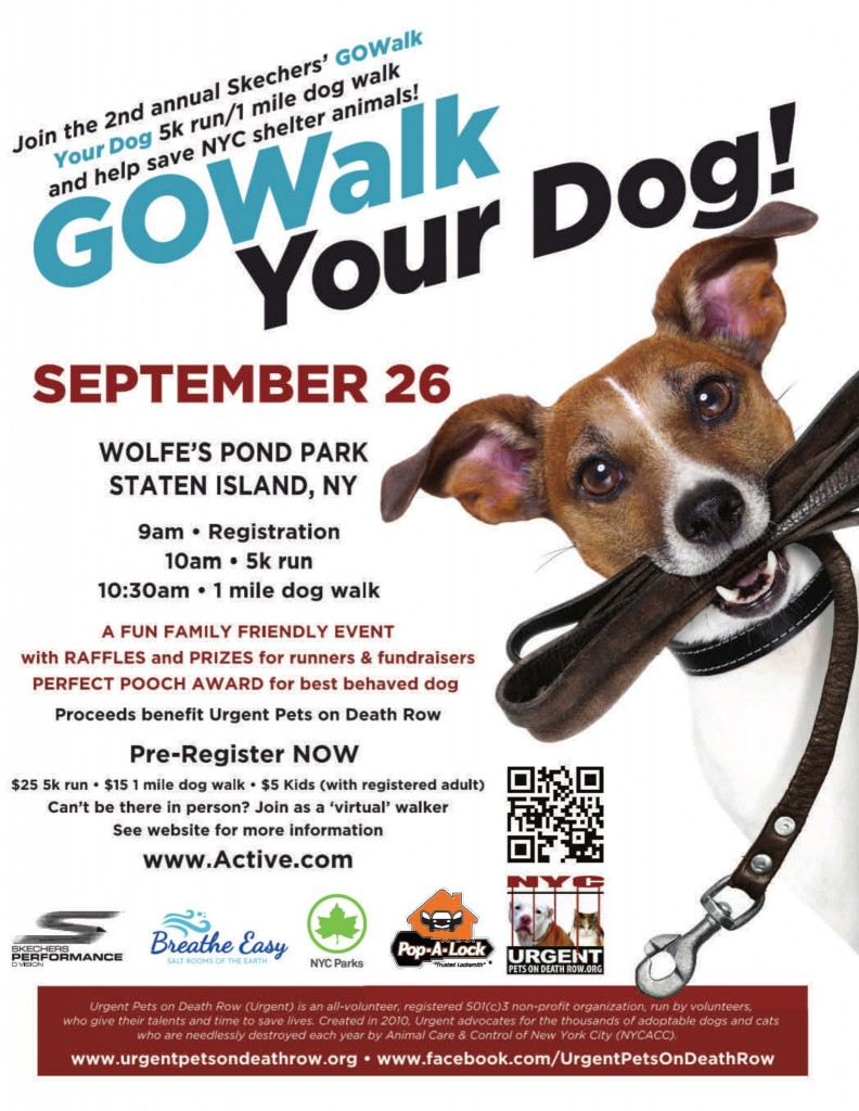 2nd Annual Skechers GO Walk Your Dog! 5K